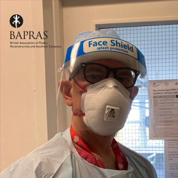 COVID-19 Plastic surgeons on the front line - Jorge Leon-Villapalos
