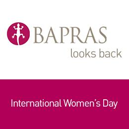 'BAPRAS looks back' - International Women's Day 2019