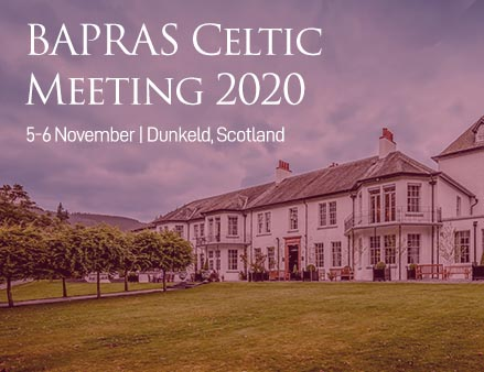BAPRAS Celtic abstract submissions closing soon