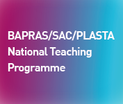 BAPRAS SAC PLASTA NATIONAL TEACHING PROGRAMME - Lower Limb 1
