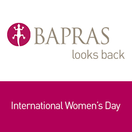 'BAPRAS looks back' - International Women's Day 2019