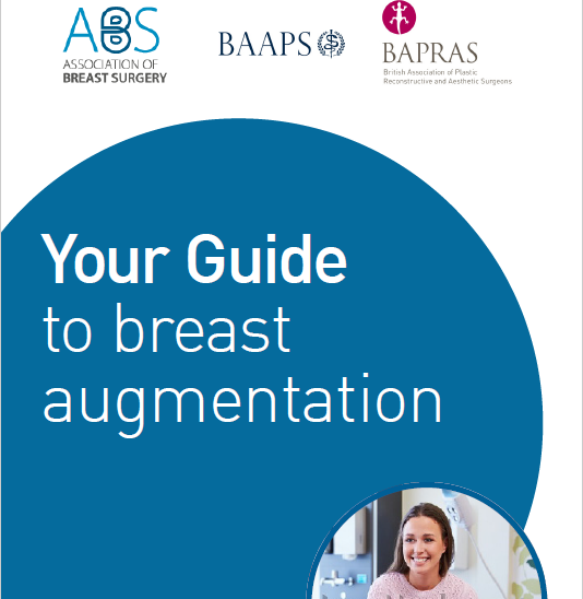 UPDATED - Breast Augmentation Patient Information Guide