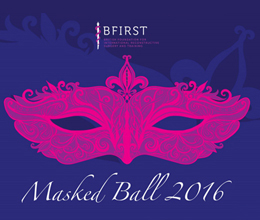Celebrate our 70th birthday at the BFIRST masked ball