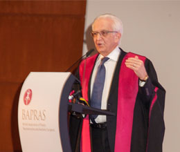 Dr Foad Nahai awarded Honorary Fellowship of Royal College of Surgeons of England