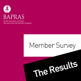 BAPRAS Members Survey - The Results